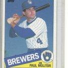 (b-32) 1985 Topps Paul Molitor #522