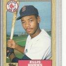 (b-32) 1987 Topps Traded #14T Ellis Burks
