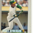 (b-32) 1996 FLEER TIFFANY #209 RICKEY HENDERSON