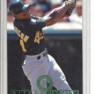 (b-32) 1995 Fleer Ultra #318 Rickey Henderson