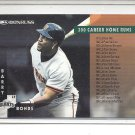 (b-32) 1996 DONRUSS #269 CHECKLIST 181-270 w/ BARRY BONDS