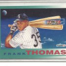 (b-32) 1992 Fleer Baseball Card #712 Frank Thomas PV