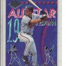 (b-32) 1994 Ultra All-Stars Atlanta Braves #18 David Justice