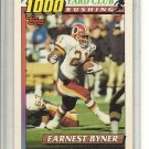 (b-32) 1991 Topps 1000 Yard Club Washington Redskins #6 Earnest Byner