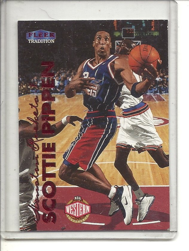 (b-32) 1999-00 Fleer Tradition #191 Scottie Pippen