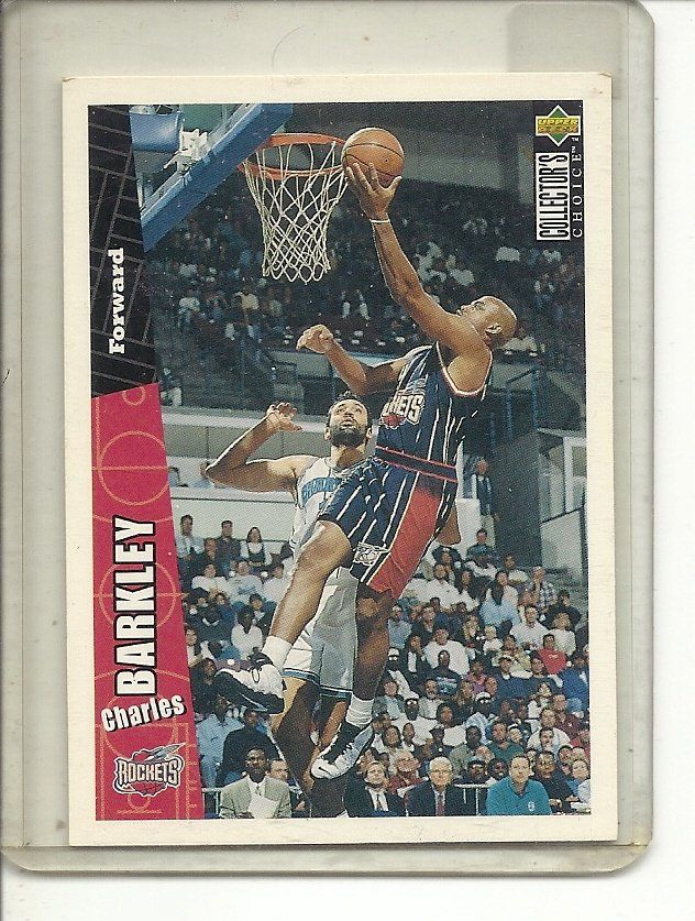 (b-32) CHARLES BARKLEY 1996-97 UPPER DECK COLLECTOR'S CHOICE # 248