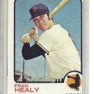(b-31) 1973 Topps #361: Fran Healy - Factory Error - Off-Set Cut