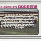 (b-31) 1973 Topps #91: Dodgers Team Card - Factory Error - Off-Set Cut