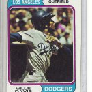 (b-31) 1974 Topps #165: Willie Davis - Factory Error - Off-Set Angled Cut