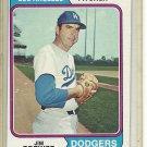 (b-31) 1974 Topps #189: Jim Brewer - Factory Error - Off-Set Angled Cut