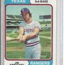 (b-31) 1974 Topps #196: Jim Fregosi- Factory Error - Off-Set Cut