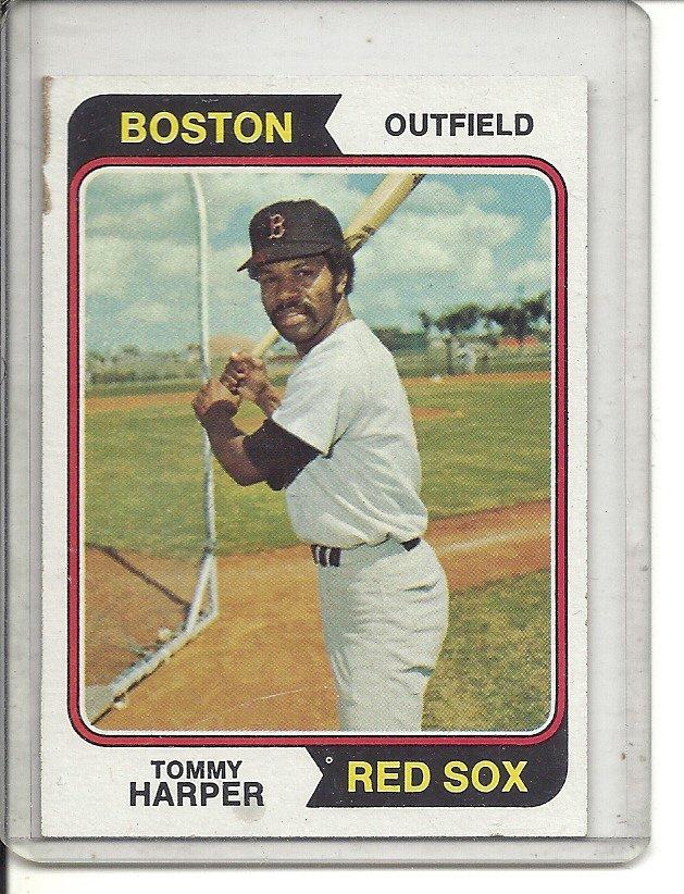 (b-31) 1974 Topps #325: Tommy Harper
