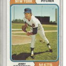 (b-31) 1974 Topps #356: Jerry Koosman - Factory Error - slight Off-Set Cut
