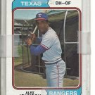 (b-31) 1974 Topps #107: Alex Johnson - Factory Error - Off-Set Cut
