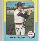 (b-31) 1975 Topps #271: Jerry Moses- Factory Error - Severe off-Set Cut