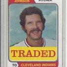(b-31) 1974 Topps Traded #269T: Bob Johnson - Factory Error - Off-Set Cut