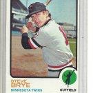 (b-31) 1973 Topps #353: Steve Brye - Factory Error - off-set Cut
