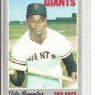 (b-31) 1970 Topps #42: Tito Fuentes