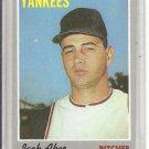 (b-31) 1970 Topps #43: Jack Aker