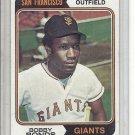 (b-30) 1974 Topps #30: Bobby Bonds