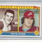 (b-30) 1983 Topps #101: Pete Rose - Super Veteran