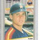 (b-30) 1989 Fleer #353: Craig Biggio - Rookie