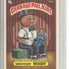 (b-30) 1986 Garbage Pail Kids Sticker Card #152a: Whisperin' Woody