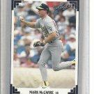 (b-30) 1991 Leaf #487: Mark McGwire