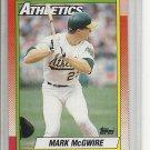 (b-30) 1990 Topps #690: Mark McGwire