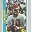 (b-30) 1978 Topps Football #183: Mike Livingston
