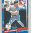 (b-30) 1991 Donruss #105: Mark McGwire