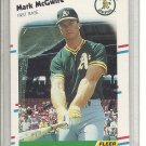 (b-30) 1988 Fleer 286: Mark McGwire