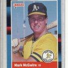 (b-30) 1988 Donruss #256: Mark McGwire
