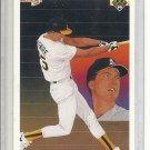 (b-30) 1990 Upper Deck #36: Mark McGwire - Athletics Team Checklist