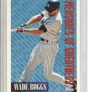 (b-30) 1994 Topps #603: Wade Boggs - Measures of Greatness