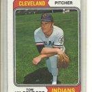 (b-30) 1974 Topps #13: Tom Hilgendorf - Factory Error Off-Set Cut