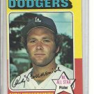 (b-30) 1975 Topps #440: Andy Messersmith - All-Star - Factory Error Off-set cut