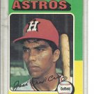 (b-30) 1975 Topps #514: Jose Cruz - Factory Error Off-Set Cut
