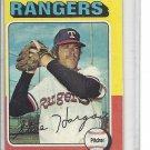 (b-30) 1975 Topps #362: Steve Hargan - Factory Error Off-Set Cut