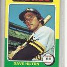 (b-30) 1975 Topps #509: Dave Hilton - Factory Error Off-Set Cut