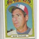 (b-30) 1972 Topps #234: Ron Taylor