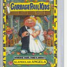(B-1) 2011 Garbage Pail Kids- Where Are They Now? #80b: Glandular Angela - Yellow