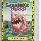 (B-1) 2011 Garbage Pail Kids - Flashback #61a: Clark Shark- Yellow