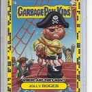(B-1) 2011 Garbage Pail Kids - Where Are They Now? #73a: Jolly Roger - Yellow