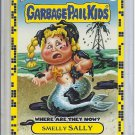(B-1) 2011 Garbage Pail Kids - Where Are They Now? #75a: Smelly Sally - Yellow