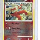 (B-1) 2008 Pokemon card #1/106: Blaziken - Reverse Hologram