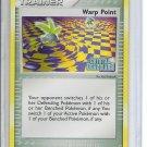 (B-1) 2006 Pokemon Crystal Guardians EX card #84/100: Warp Point -Hologram