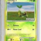 (B-1) 2008 Pokemon Platinum card # 77/100: Turtwig - Reverse Hologram