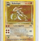 (B-1) 2000 Pokemon Card #9/62: Kabutops - Hologram - French Ed.