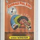 (B-1) 1986 Garbage Pail Kids #175a: Windy Winston